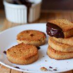 Biscotti di mandorle e ceci vegani
